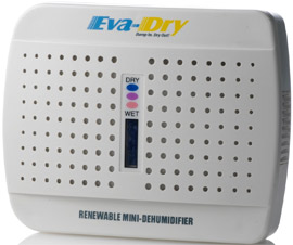 Eva-dry E-333 Mini Portable Dehumidifier