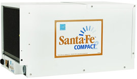 Santa Fe Compact 2 Crawl Space Dehumidifier